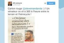 """L1 - Marseille: des sénateurs invitent Mandanda qui a reproché à son équipe de jouer """"comme des sénateurs"""""""