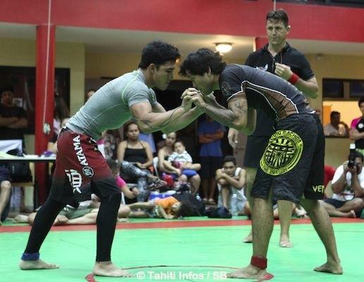 Le judoka Yvan Shan a fait une grosse impression (à gauche)