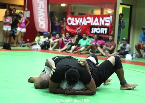Le rugbyman Jean Tautu s'est imposé chez les - de 125kg