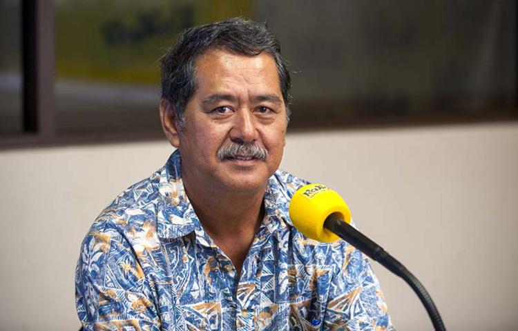 Rodolphe Apuarii, président de la FTV