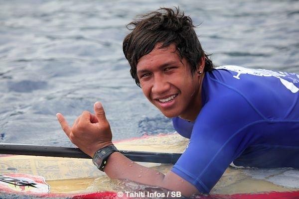 Poenaiki Raioha, 18 ans, est déjà un sportif d'exception