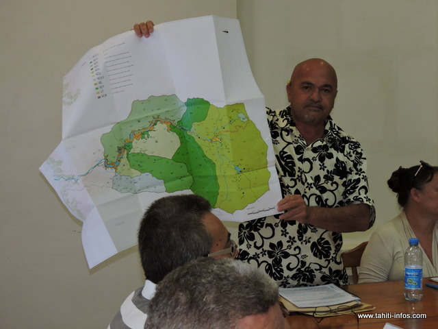 Le maire délégué de Papenoo, Vetea Avaemai campe sur sa position et s'oppose fermement à la réalisation de ce projet dans la vallée de la Maroto.