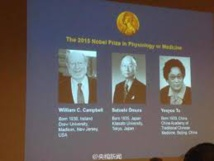 Le Nobel de médecine récompense la lutte contre les maladies parasitaires