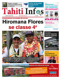 TAHITI INFOS N°509 du 5 octobre 2015