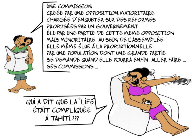 """La commission d'enquête"""", par Munoz"""