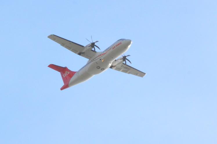Depuis juin dernier, Air Tahiti effectue une rotation hebdomadaire à destination de Moruroa pour le compte de l'Economat des Armées, dans le cadre du chantier Telsite 2.