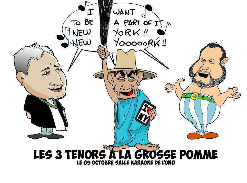 Les souverainistes à New York par Munoz