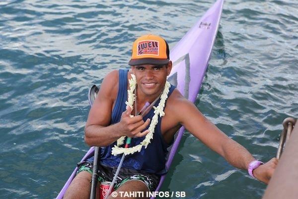 La fédération tahitienne de kayak comporte 375 licenciés, dont Hiromana Florès est le fer de lance