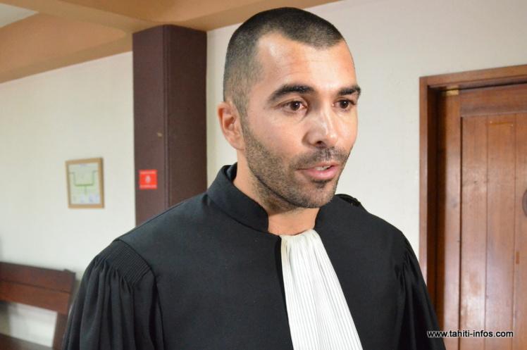 Me Thibaud Millet, avocat au barreau de Papeete.