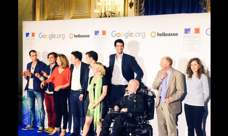 Google impact challenge. 200 000 euros pour le projet Make Sense de Christian Vanizette