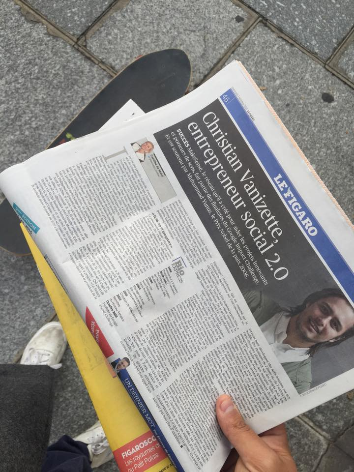 Le Figaro consacre une pleine page à l'asociation polynésienne.