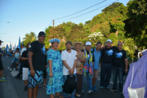 Le 17 mai 2014 à l'occasion du premier anniversaire de la réinscription de la Polynésie française sur la liste des territoires à décoloniser, Corbin Carlyle (au centre en T-Shirt blanc) participait avec Marie-Claude Tjibaou mais aussi d'Oscar Temaru et diverses personnalités politiques de l'UPLD au Tavini Tour à Tahiti.