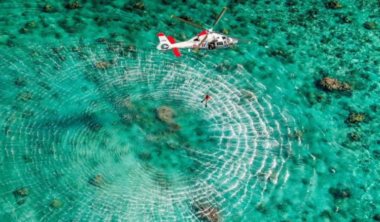 """"""" Une opération de sauvetage en Polynésie se planifie différemment qu'en métropole car les distances sont beaucoup plus longues """""""
