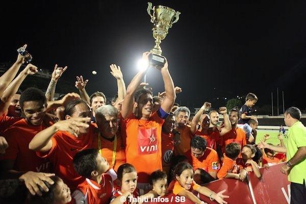 Pirae a gagné le championnat de la saison 2013-2014