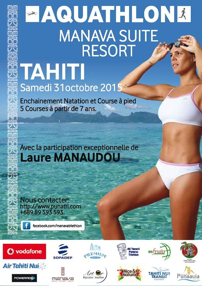 Laure Manaudon sera à Tahiti pour 10 jours, c'est officiel