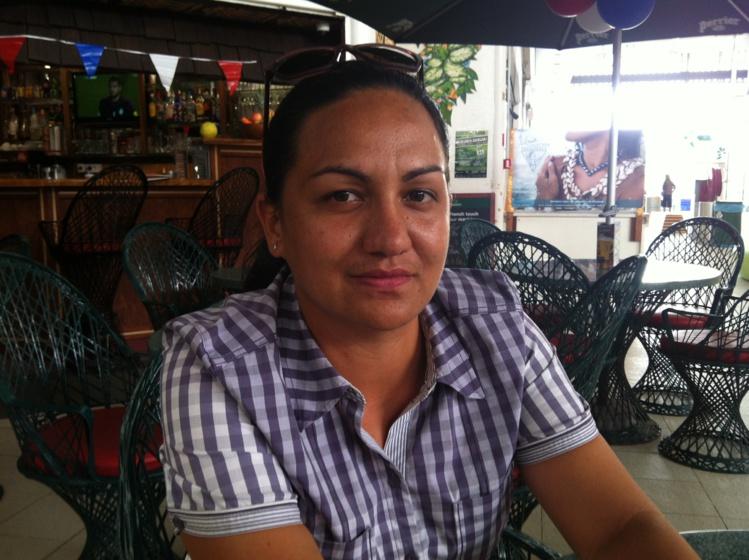 Rautea Ori, secrétaire adjointe de la coopérative de Teva I Uta