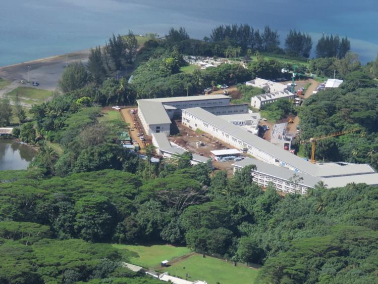 Le futur centre de détention de Papeari ouvrira ses portes début 2017