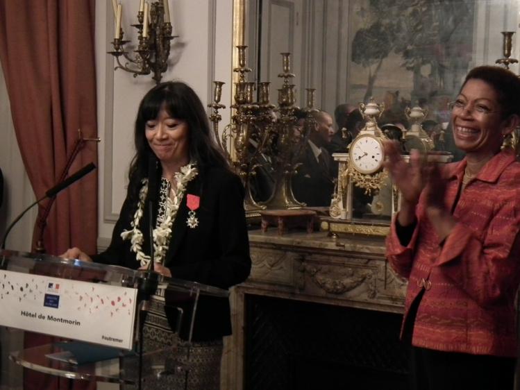 Anna-Bella Failloux s'est vue attribuer sa Légion d'Honneur