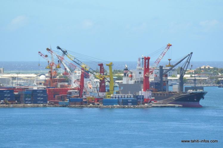 La dernière grue de la société Sat Nui a demandé un investissement de 500 millions Fcfp.