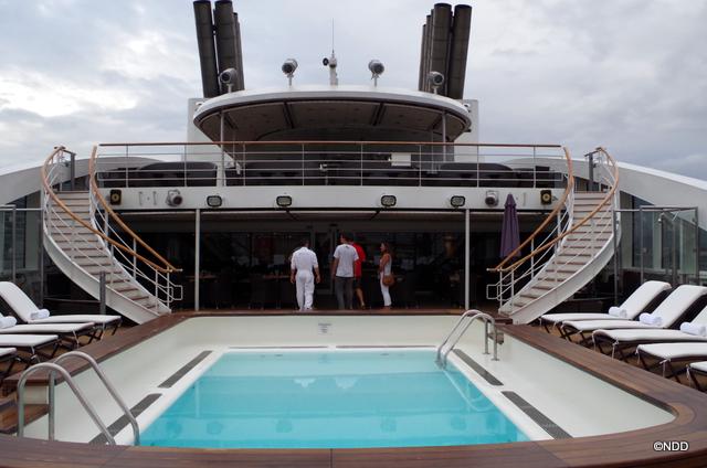 L'Austral au port de Papeete