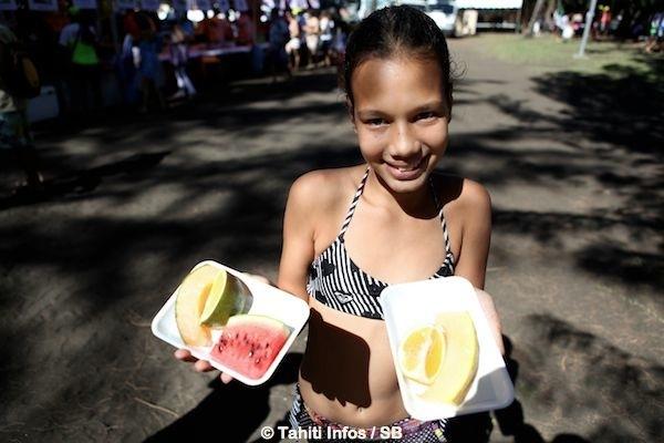 Tu'aro no te ora, une manifestation qui se déroulait habituellement à Tahiti