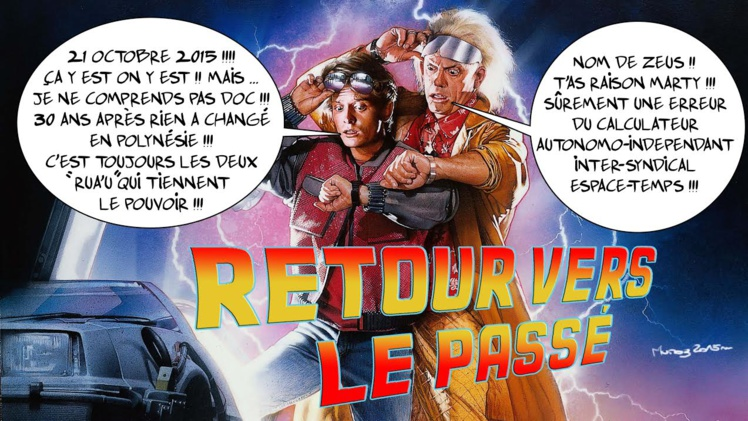 """""""Retour vers le passé"""" par Munoz"""