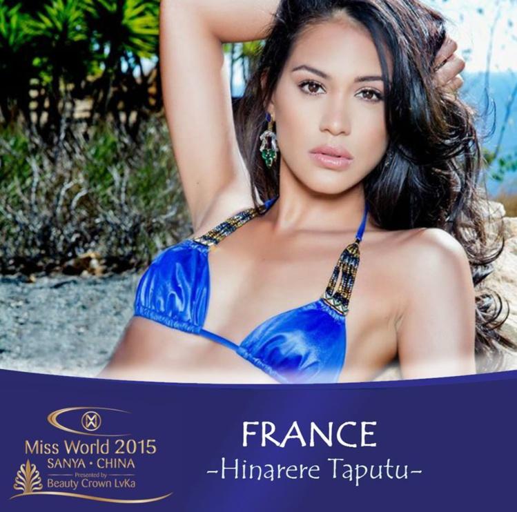 La première dauphine de Miss France 2015 et Miss Tahiti 2014 devra faire la différence face à la centaine de candidates en lice à ce jour. (Photo : DR)