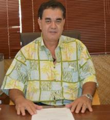 Stéphane Chin Loy, le président de la CCISM.