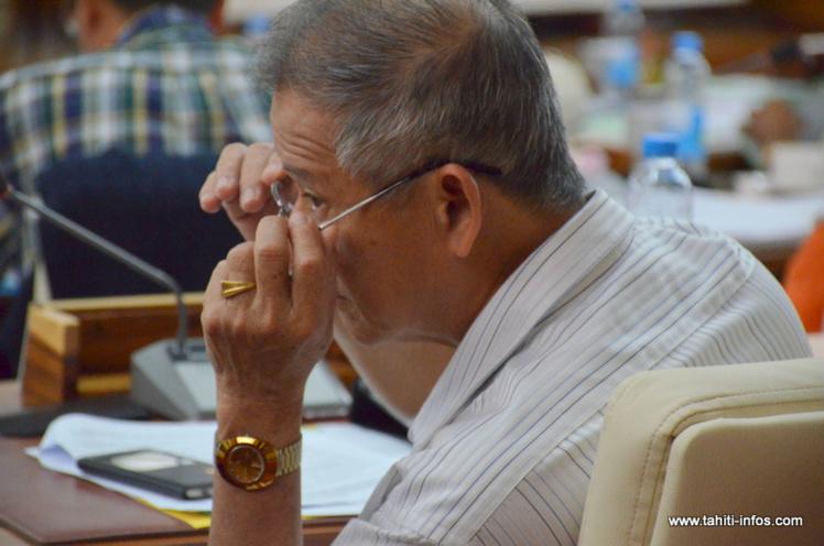 Charles Fong Loi, président du Taatira No Te Hau, élu sur la liste Tahoera'a en mai 2013.