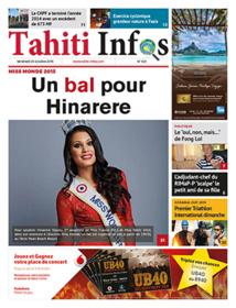 TAHITI INFOS N°523 du 23 octobre 2015