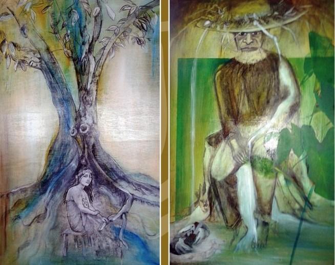 L'artiste est profondément marquée par sa culture qu'elle vit avec passion.