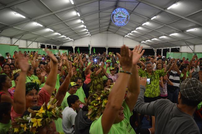 Putai Taae est élu tavana de Papara