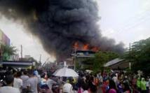 Désespoir dans une ville d'Indonésie au coeur des incendies polluant l'air en Asie