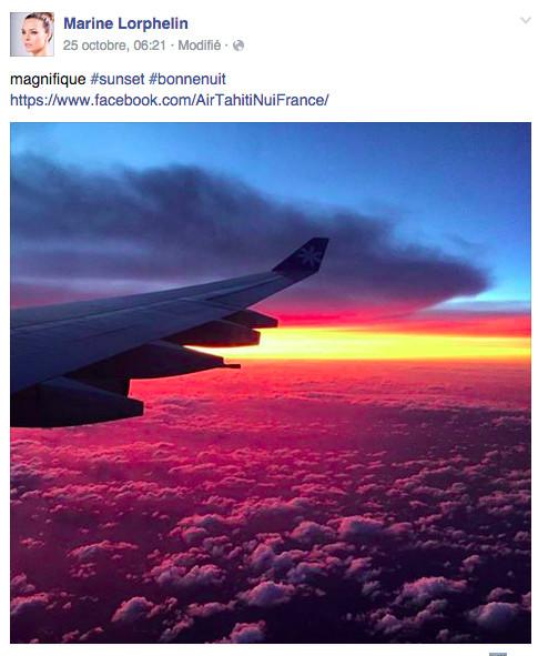 A bord d'un avion ATN (photo Facebook)