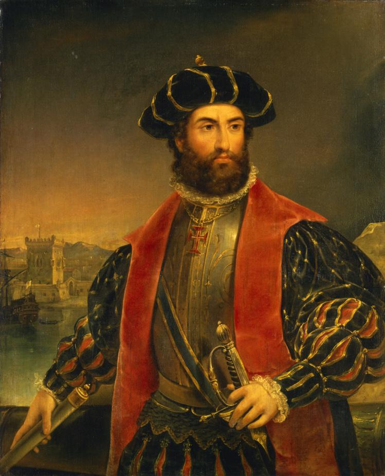Binot Paulmier de Gonneville souhaitait suivre le sillage de Vasco de Gama (notre photo), qui avait ouvert la route des Indes à la toute fin du XVe siècle.