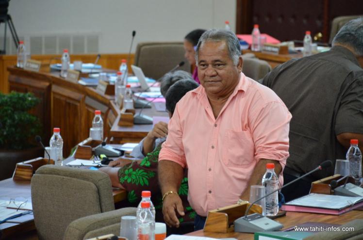Rudolph Jordan a annoncé jeudi aux élus du groupe des pro-Fritch qu'il compte les rejoindre dès la séance du 12 novembre prochain, à l'assemblée.