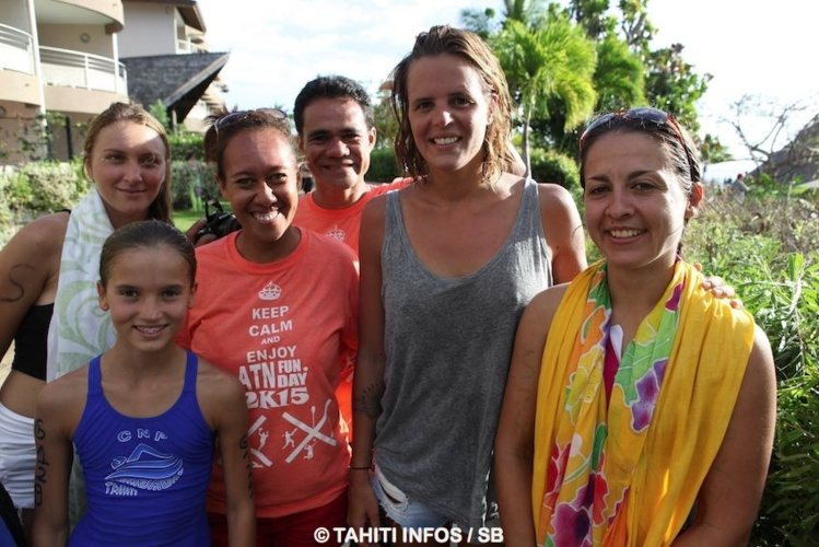 Laure Manaudou s'est montrée disponible pour ses supporters
