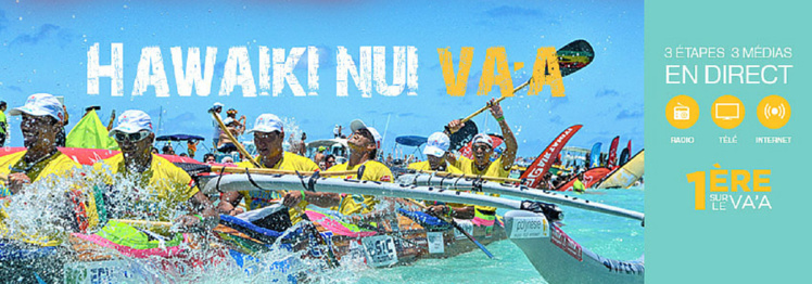 Hawaiki Nui Va'a : suivez la course !
