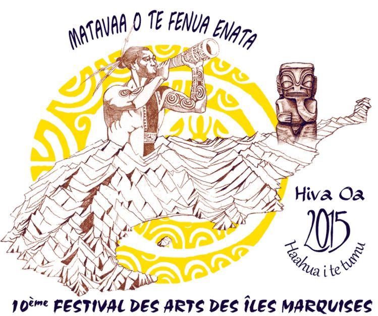 Le logo du festival des Marquises