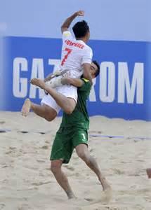 Beachsoccer: Les Tikitoa battent les champions du monde en titre