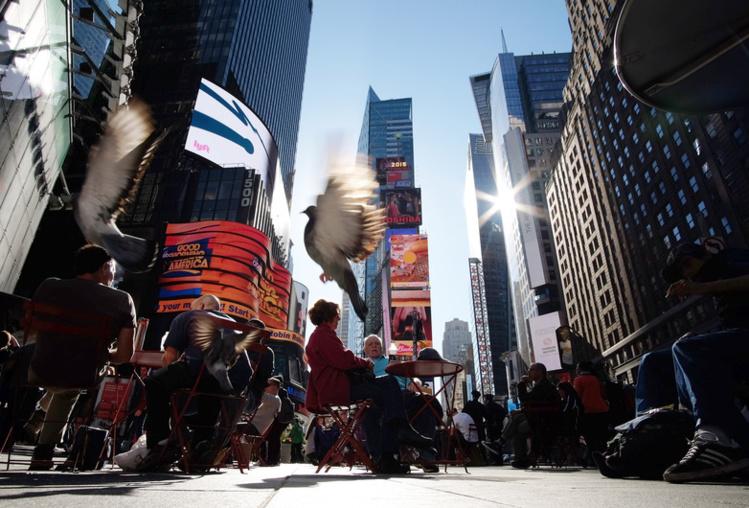 Record de chaleur à New York pour un 6 novembre.