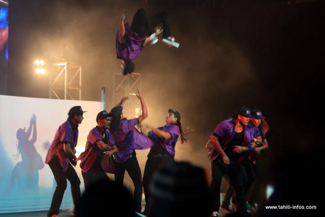 Même s'ils ne sont pas arrivés sur le podium, les Ninja Cool ont offert un beau spectacle