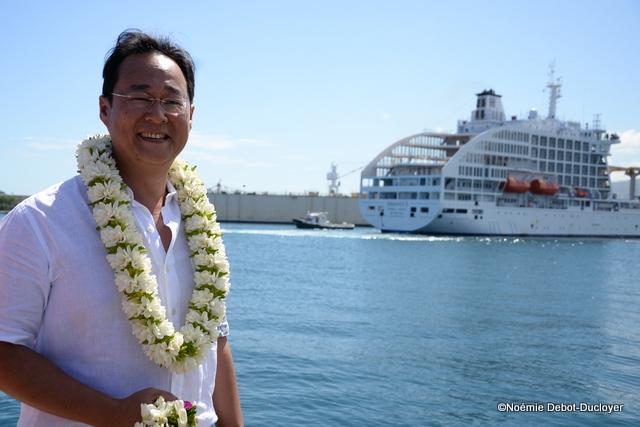 Philippe Wong, l'armateur de la compagnie polynésienne de transport maritime