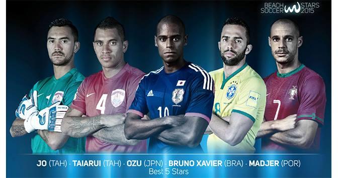Deux Tahitiens dans les 5 meilleurs joueurs de l'année, Jonathan élu meilleur gardien.