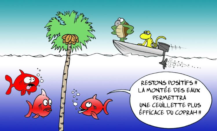 """""""Montée des eaux"""" vu par Munoz"""