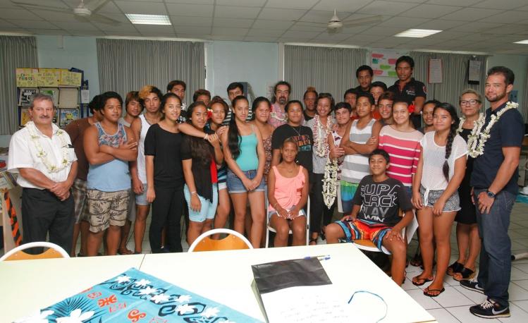 """Une """"classe de défense et de sécurité globale"""" au collège de Taravao"""