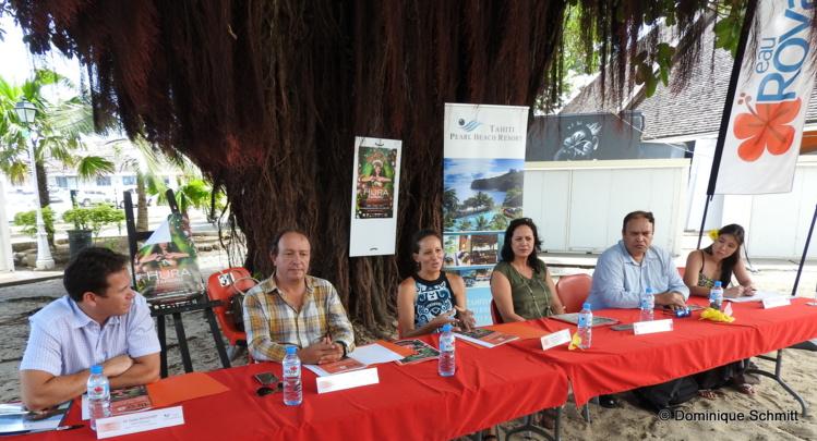 Les organisateurs, unis dans la valorisation du patrimoine polynésien.