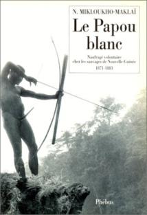 """La couverture du livre """"Le Papou blanc"""" publié en français en 1994."""