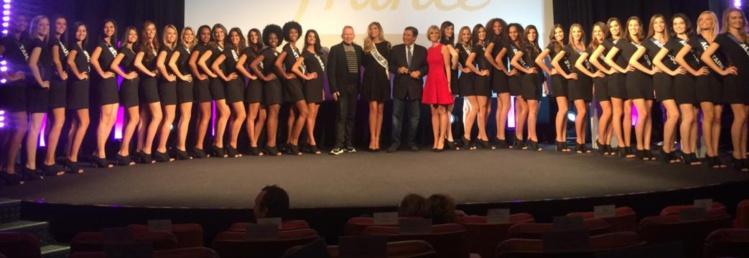 Miss France : les candidates défileront lundi à la Présidence