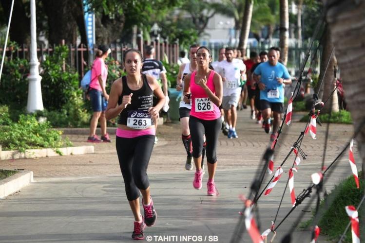 Presque 700 participants pour cette course en pleine ville